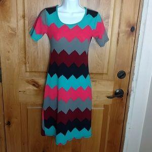 Honey & Lace XS midi dress - EUC like new!